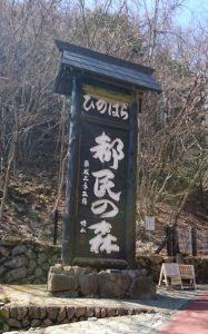 三頭大滝in西東京(檜原村)看板