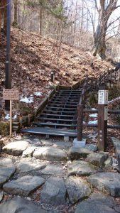 三頭大滝in西東京(檜原村)階段