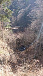 三頭大滝in西東京(檜原村)ベンチ2