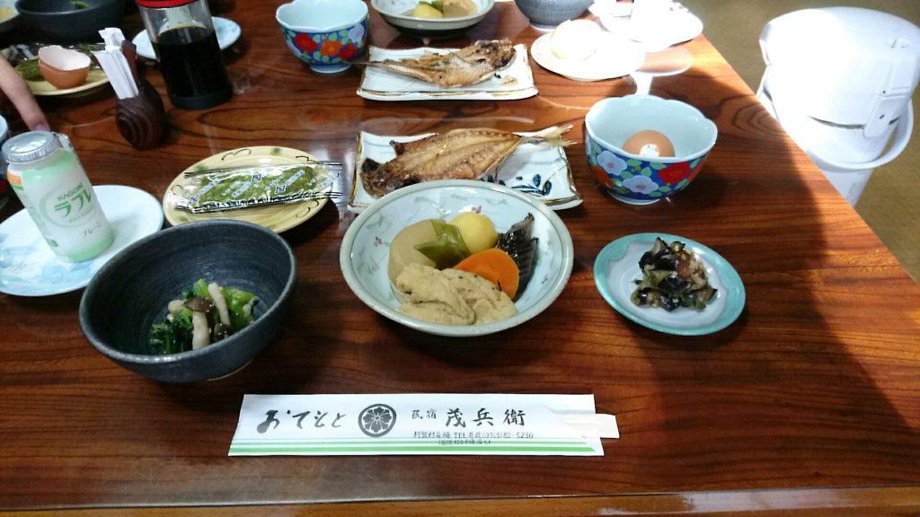 茂兵衛の朝食