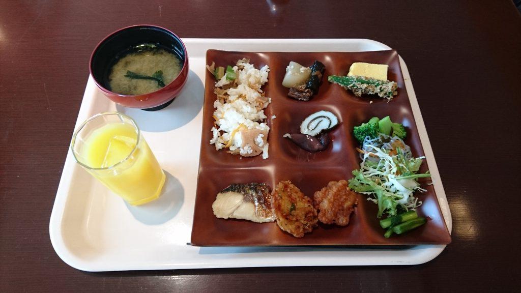 ホテルグランテラス富山 朝食