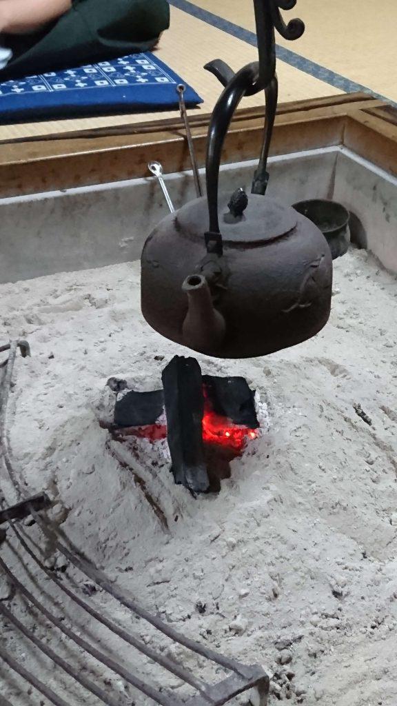茂兵衛の囲炉裏