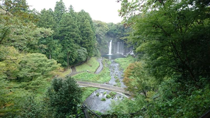 白糸の滝in静岡(富士宮市)1