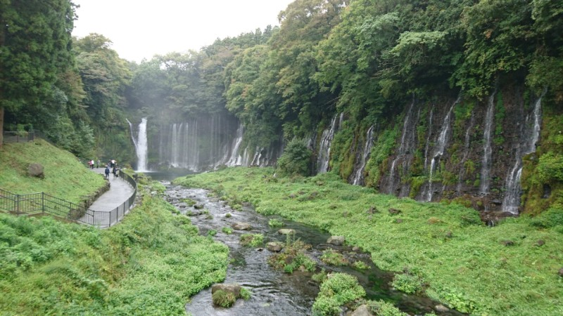 白糸の滝in静岡(富士宮市)2