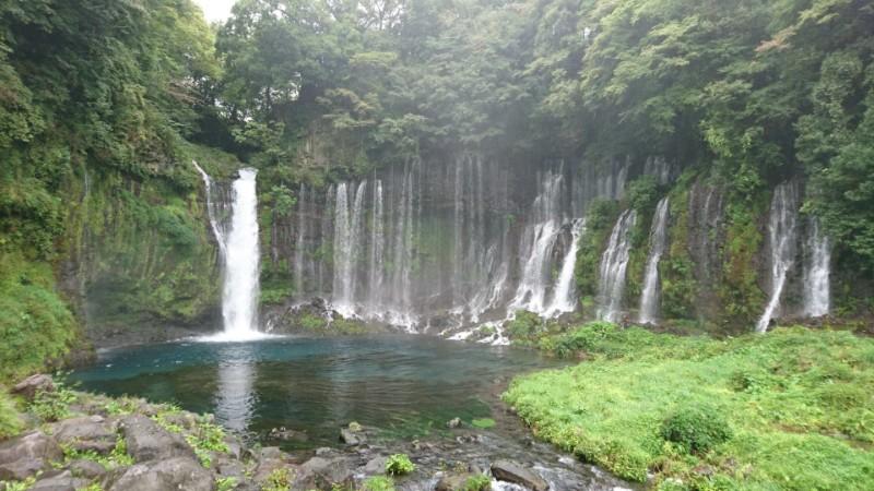 白糸の滝in静岡(富士宮市)