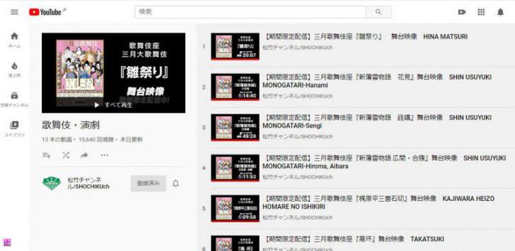 【映像配信観劇感想】2020年三月大歌舞伎 歌舞伎座