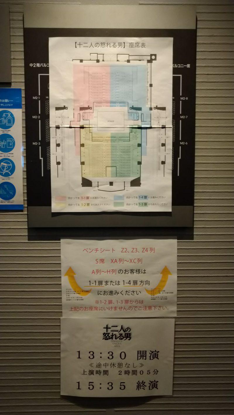 観劇感想「十二人の怒れる男」9/11-10/4シアターコクーン2